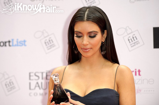 Kim Kardashian attends The FiFi UK Fragrance Awards 2012
