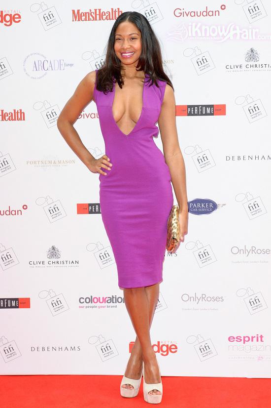Shanika Warren Markland attends The FiFi UK Fragrance Awards 2012