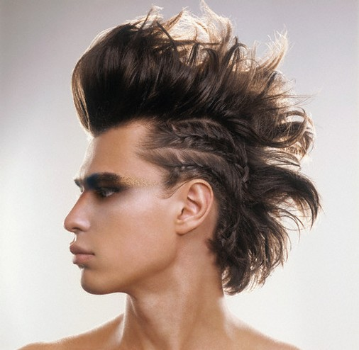 70s hairstyle. Punk Rock Hairstyles 2010 –