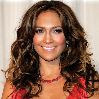 A strength mousse can be added to the hair roots. Jennifer Lopez