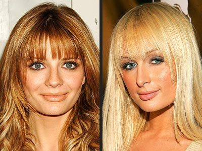 Model well-liked bangs haircut women from the past until now,