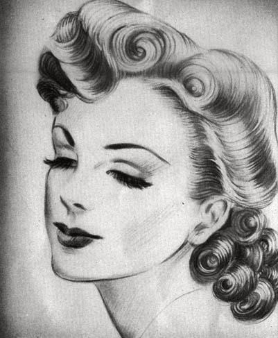 1940s Hairstyles | For Long Hair | For Short Hair