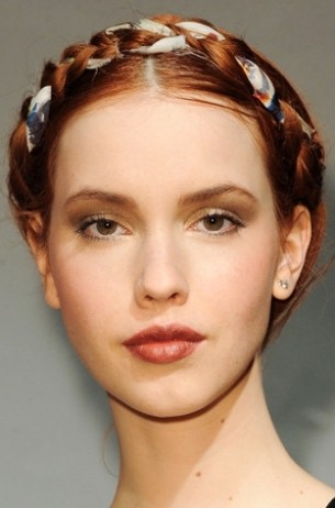 2011 hair trends braids rachel roy catwalk hair