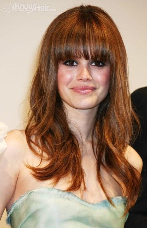 Hairstyles Side Fringe Hair Styles Fringe Bangs Hairstyles ...
