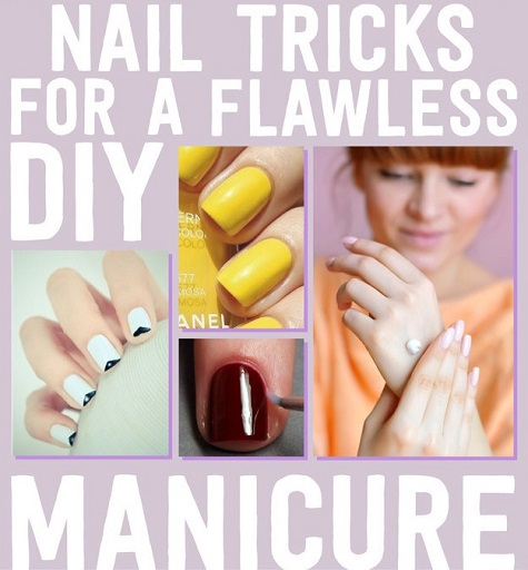 11 Easy Nail Hacks For A Flawless DIY Manicure