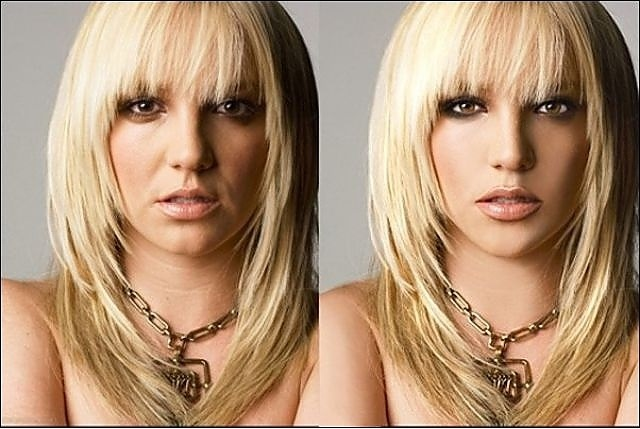 20 Gifs Of Famous Celebrities Before And After Photoshop