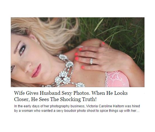 Husband's Heartwarming Response To Retouched Boudoir Photos Of His Wife