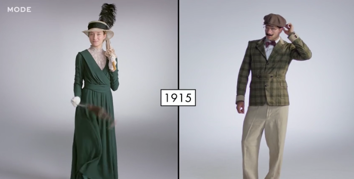 100 Years Of Fashion Gals Vs Guys