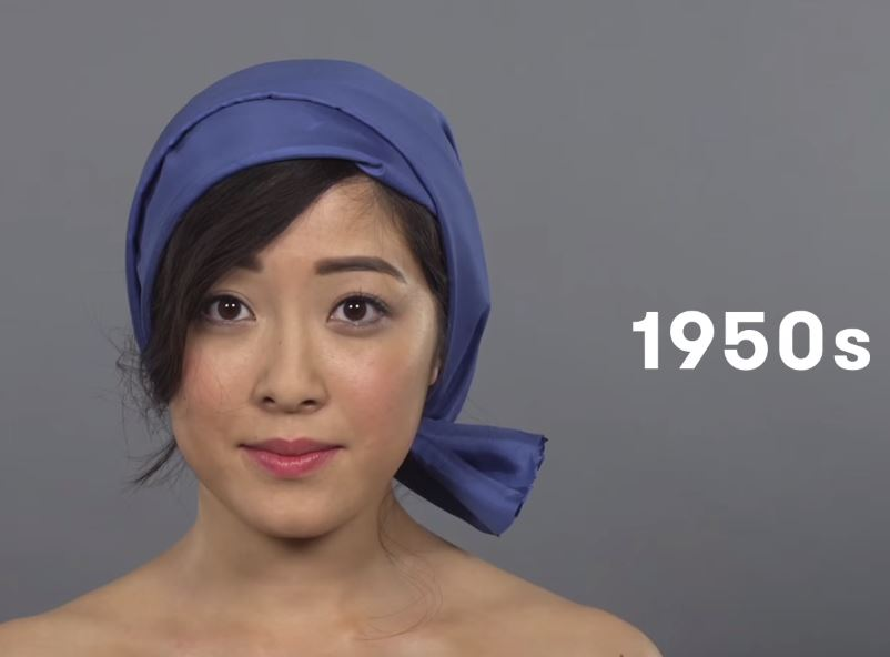 Video: 100 Years of Beauty in 1 Minute: China