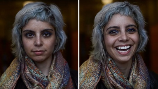 Student Captures What Happens When People Are Told They Are Beautiful1
