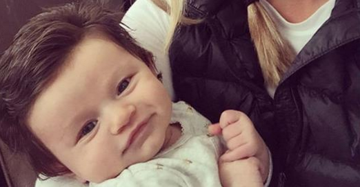This Baby Was Born With A Full Head Of Hair And The Internet Loves Her.