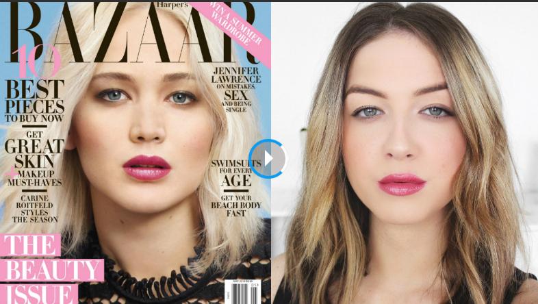 Get the Look: Jennifer Lawrence's Spring Makeup
