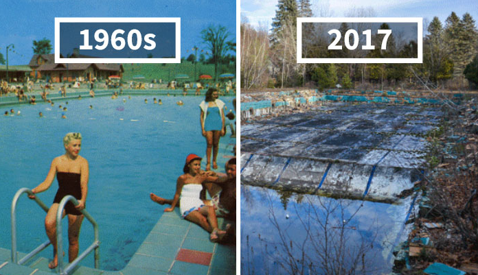 Abandoned Places Before After Pablo Iglesias Maurer