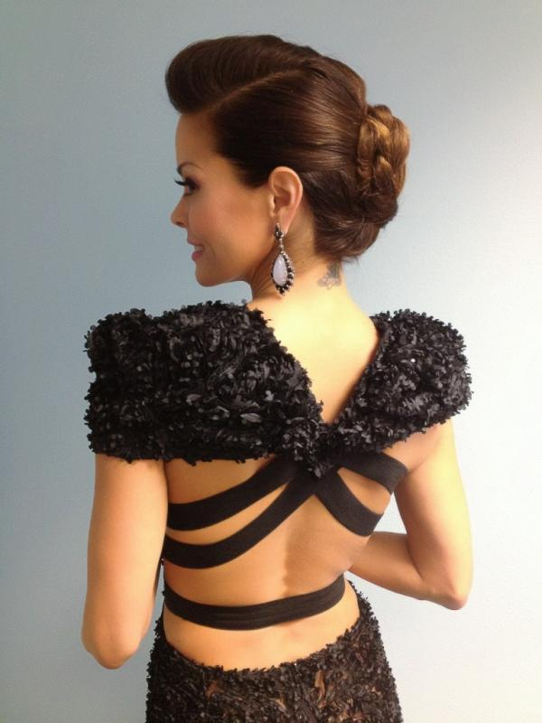 Brooke Burke Braided Chignon