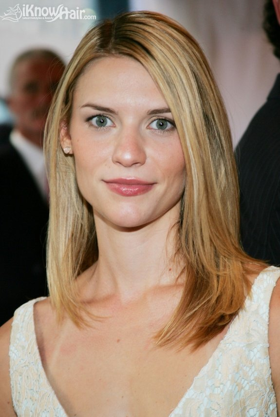 Claire Danes Hairstyles Claire Danes Straight Side Swept
