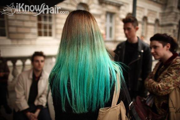 Dip Dyed Hair