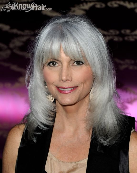 Hair Style Quite : Gray Hair Styles 2011 Gray Hair Styles for Women over 40 50 60 Young