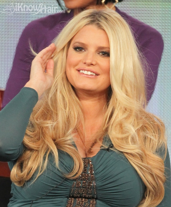 Incredible Jessica Simpson Hair Extensions Are They Worth It Hairstyles Hairstyle Inspiration Daily Dogsangcom
