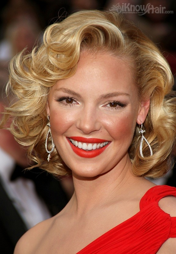 Old Hollywood Hairstyles Glamour