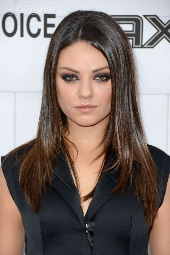Mila Kunis Hair Mila Kunis Hairstyles Short Hair Long Hair ...