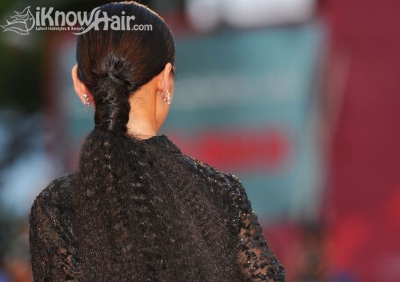 Poofy Ponytail Hairstyles