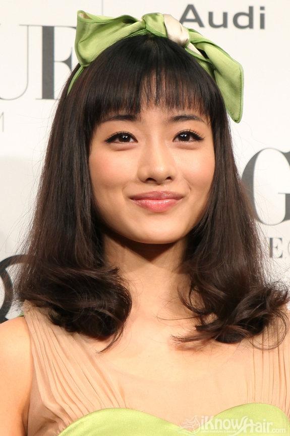 Medium Haircut Asian