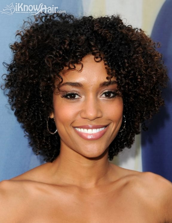 Coloring the short black hair styles with bright colors is the latest ...