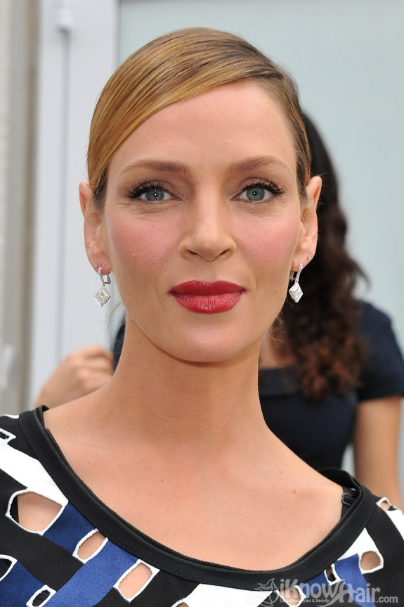uma thurman hairstyles : Uma Thurman Hairstyles 2011 Uma Thurman Hair and Haircuts ...