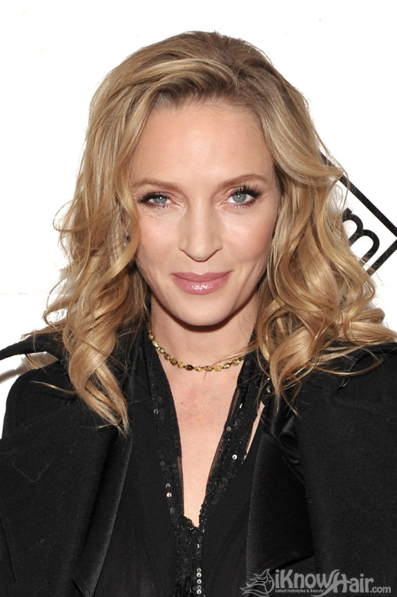 Uma Thurman Hairstyles 2011 Uma Thurman Hair And