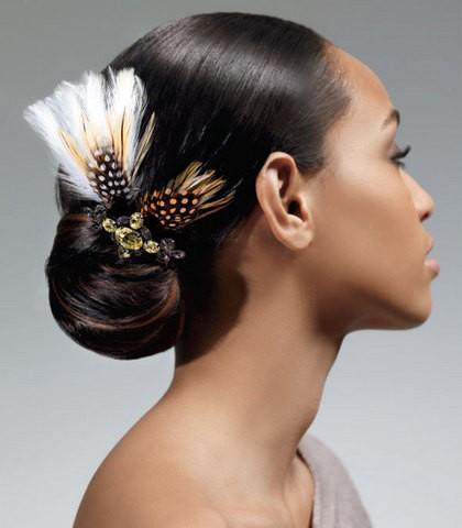 Sensational African American Wedding Hairstyles Black Wedding Hairstyles Hairstyles For Men Maxibearus