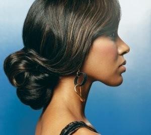 Pleasing African American Wedding Hairstyles Black Wedding Hairstyles Hairstyles For Women Draintrainus