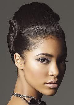 Astonishing African American Wedding Hairstyles Black Wedding Hairstyles Short Hairstyles Gunalazisus