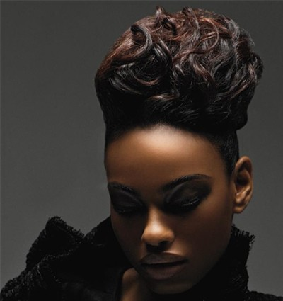Swell African American Wedding Hairstyles Black Wedding Hairstyles Short Hairstyles Gunalazisus