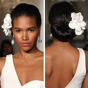 Remarkable African American Wedding Hairstyles Black Wedding Hairstyles Hairstyle Inspiration Daily Dogsangcom