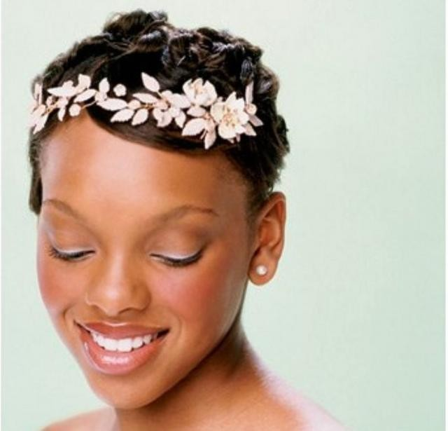 african american wedding hairstyles short hairstyles 2016. Black Bedroom Furniture Sets. Home Design Ideas
