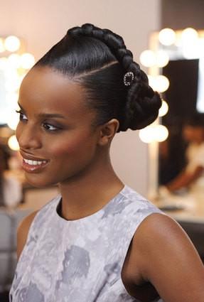 Brilliant African American Wedding Hairstyles Black Wedding Hairstyles Short Hairstyles Gunalazisus