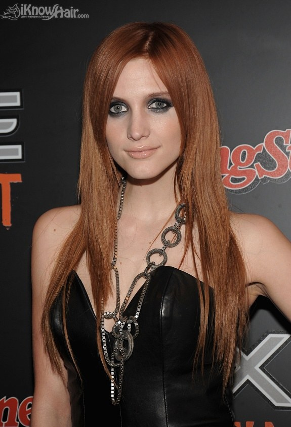 Ashlee Simpson attends the AXE Instinct launch party at the Hard Rock