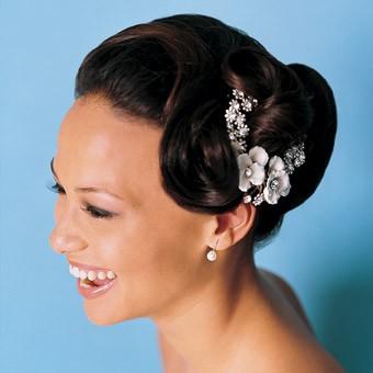Terrific African American Wedding Hairstyles Black Wedding Hairstyles Hairstyles For Women Draintrainus
