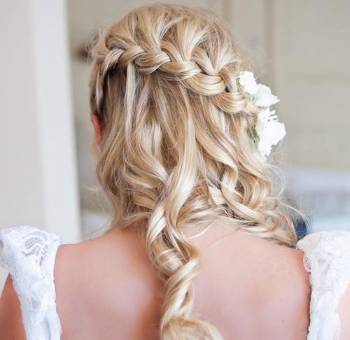 15 - Braided Half Up Half Down Hairstyle