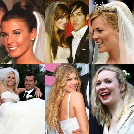 Strange Celebrity Wedding Hairstyles Wedding Hair Styles Wedding Hair Hairstyles For Women Draintrainus