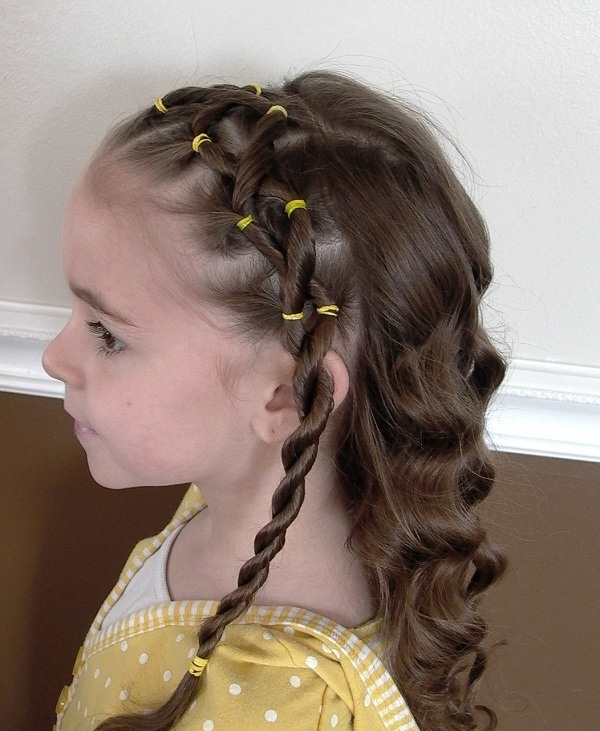 hairstyles for little girls how to do at home video tutorials