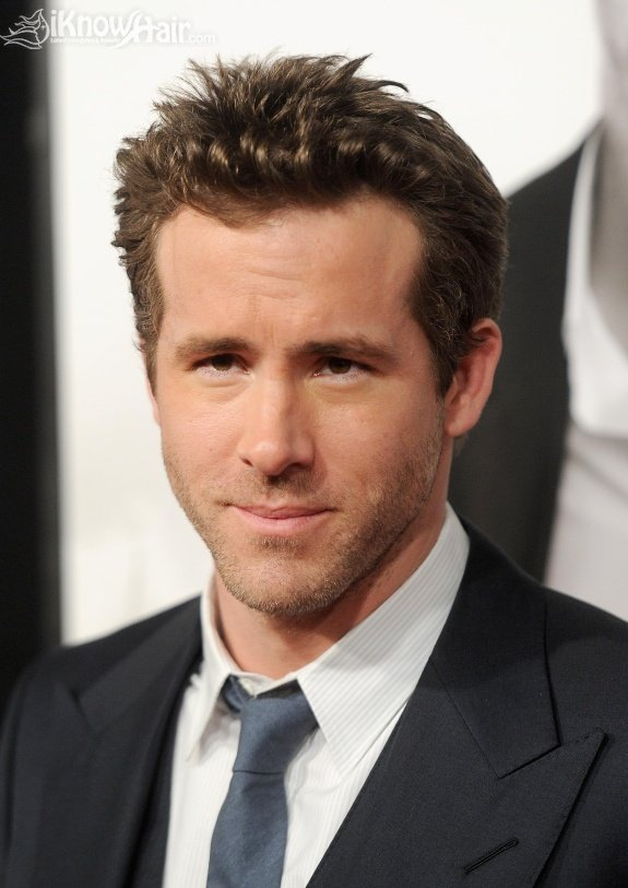 Tendy Short Hair Styles for Men Ryan Reynolds