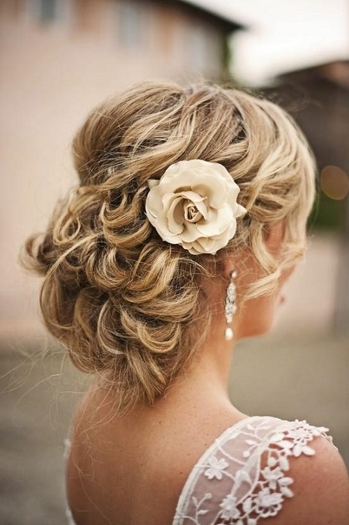 Fantastic Short Bridal Hairstyles 2013  Stylish Eve