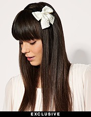 White bow hair band hairstyles 2017 trendy haircuts and hair white bow hair band urmus Choice Image
