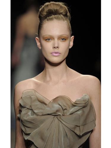 Winter Hairstyles 2012 - Holiday Hairstyles Donna Karan