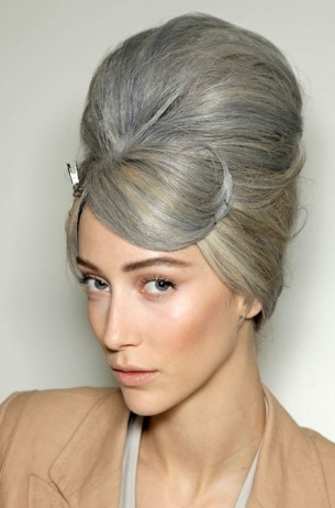 2011 Hair Trends Beehive Hair Jeanpaulgaultier