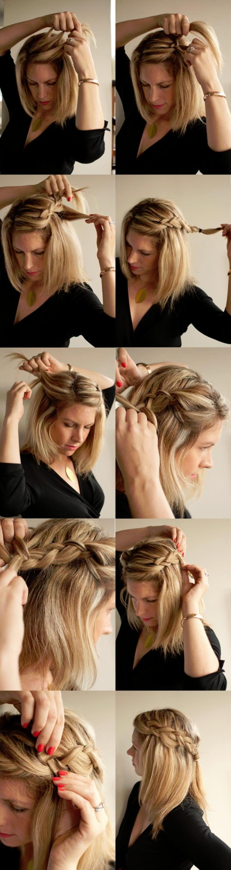 22 Amazing Braid Hairstyle Tutorials