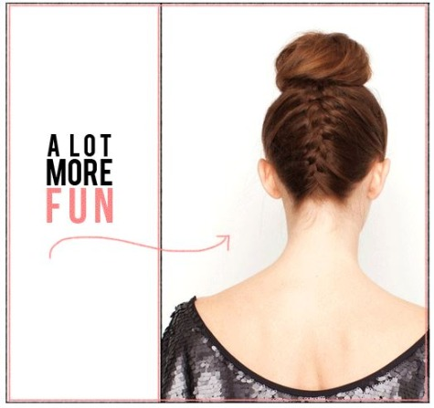 14 Ways To Take Your Top Knot Game To The Next Level