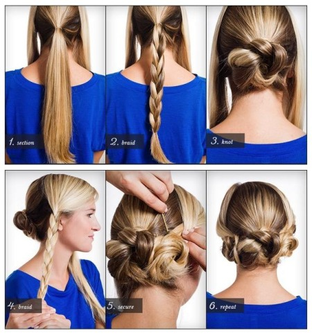 14 Super Easy Hairstyle Tutorials