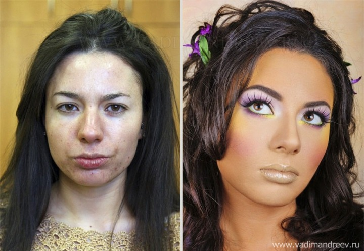 Amazing Before and After Makeup Photos by Vadim Andreev